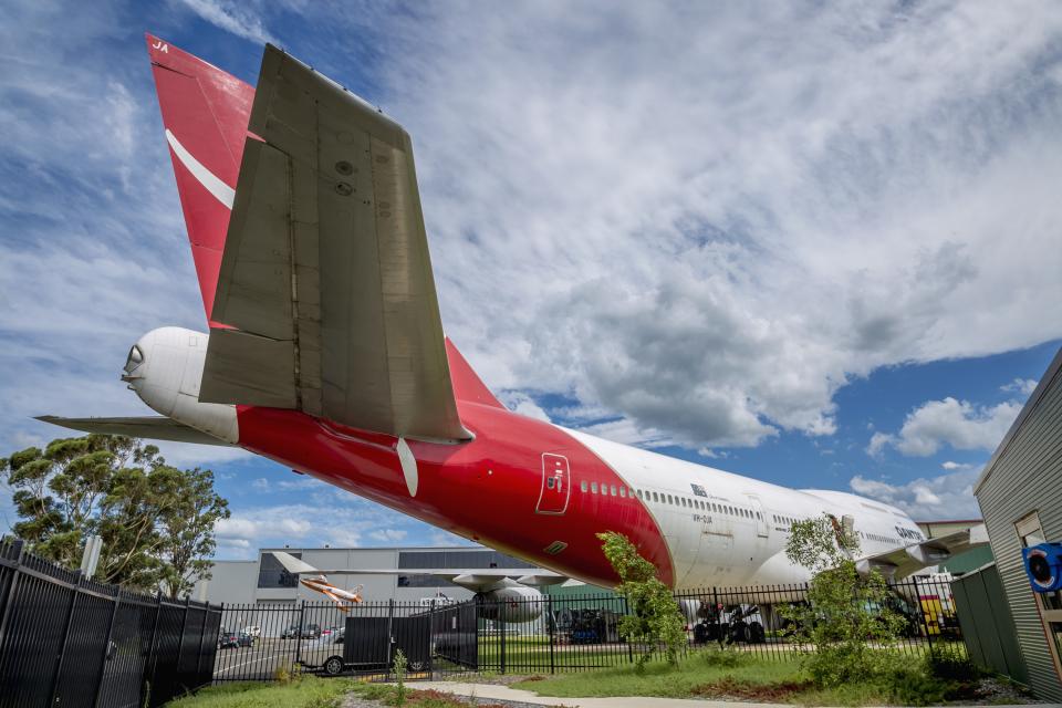 mameshibaさんのカンタス航空 Boeing 747-400 (VH-OJA) 航空フォト