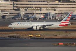 OS52さんが、羽田空港で撮影したアメリカン航空 787-9の航空フォト(飛行機 写真・画像)