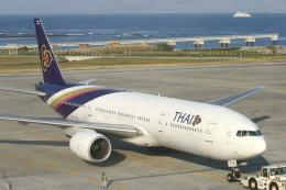 Mr.boneさんが、那覇空港で撮影したタイ国際航空 777-2D7の航空フォト(飛行機 写真・画像)