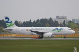 muneyan007さんが、成田国際空港で撮影したスカイ・アンコール・エアラインズ A320-231の航空フォト(飛行機 写真・画像)