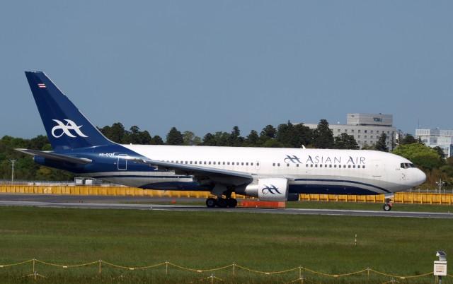 muneyan007さんが、成田国際空港で撮影したアジアン・エア 767-2J6/ERの航空フォト(飛行機 写真・画像)