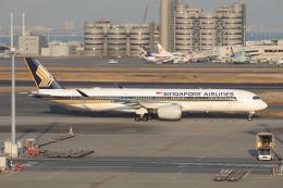 OS52さんが、羽田空港で撮影したシンガポール航空 A350-941の航空フォト(飛行機 写真・画像)