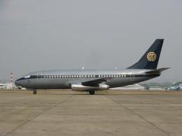ゴンタさんが、名古屋飛行場で撮影したスカイ・アヴィエーション 737-2W8/Advの航空フォト(飛行機 写真・画像)