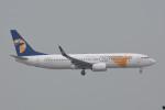 kuro2059さんが、香港国際空港で撮影したMIATモンゴル航空 737-8SHの航空フォト(飛行機 写真・画像)