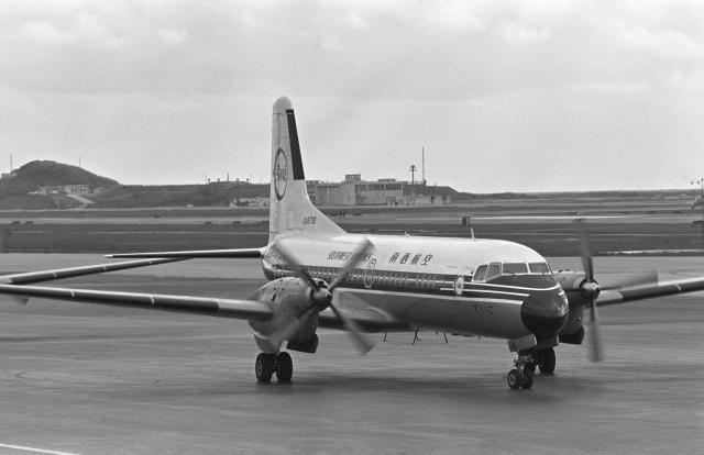 チャーリーマイクさんが、那覇空港で撮影した南西航空 YS-11A-202の航空フォト(飛行機 写真・画像)