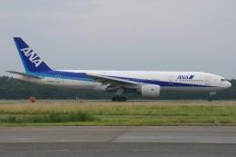 MOR1(新アカウント)さんが、小松空港で撮影した全日空 777-281の航空フォト(飛行機 写真・画像)