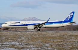 Dojalanaさんが、函館空港で撮影した全日空 A321-272Nの航空フォト(飛行機 写真・画像)
