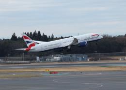 銀苺さんが、成田国際空港で撮影したブリティッシュ・エアウェイズ 787-9の航空フォト(飛行機 写真・画像)