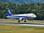 ナナオさんが、石見空港で撮影したバニラエア A320-214の航空フォト(飛行機 写真・画像)