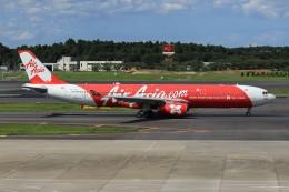 メンチカツさんが、成田国際空港で撮影したインドネシア・エアアジア・エックス A330-343Xの航空フォト(飛行機 写真・画像)