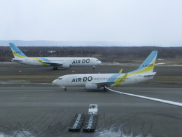 ヒロリンさんが、新千歳空港で撮影したAIR DO 767-381/ERの航空フォト(飛行機 写真・画像)