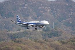 神宮寺ももさんが、高松空港で撮影した全日空 A321-211の航空フォト(飛行機 写真・画像)