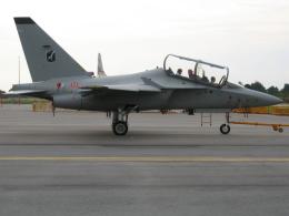 ☆ゆっきー☆さんが、シンガポール・チャンギ国際空港で撮影したイタリア空軍 MB-339PANの航空フォト(飛行機 写真・画像)