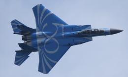 ☆ゆっきー☆さんが、シンガポール・チャンギ国際空港で撮影したシンガポール空軍 F-15SG Eagleの航空フォト(飛行機 写真・画像)