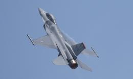 ☆ゆっきー☆さんが、シンガポール・チャンギ国際空港で撮影したアメリカ空軍 F-16CM-50-CF Fighting Falconの航空フォト(飛行機 写真・画像)