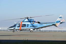 とびたさんが、津市伊勢湾ヘリポートで撮影した静岡県警察 A109E Powerの航空フォト(飛行機 写真・画像)