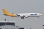 kuro2059さんが、香港国際空港で撮影したアトラス航空 747-87UF/SCDの航空フォト(飛行機 写真・画像)