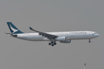kuro2059さんが、香港国際空港で撮影したキャセイパシフィック航空 A330-342Xの航空フォト(飛行機 写真・画像)