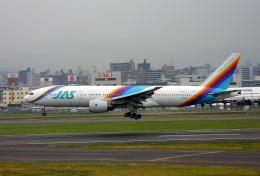 tsubameさんが、福岡空港で撮影した日本エアシステム 777-289の航空フォト(飛行機 写真・画像)