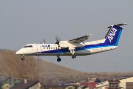 noriphotoさんが、札幌飛行場で撮影したエアーニッポンネットワーク DHC-8-314Q Dash 8の航空フォト(飛行機 写真・画像)