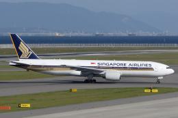 Hariboさんが、中部国際空港で撮影したシンガポール航空 777-212/ERの航空フォト(飛行機 写真・画像)