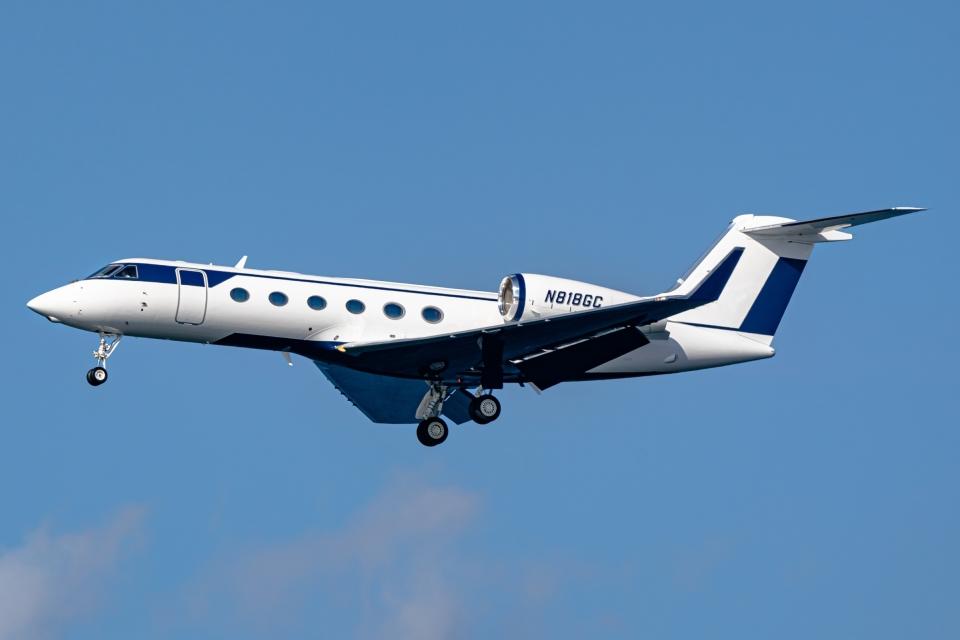 Ariesさんのウィルミントン・トラスト・カンパニー Gulfstream Aerospace G350/G450 (G-IV) (N818GC) 航空フォト
