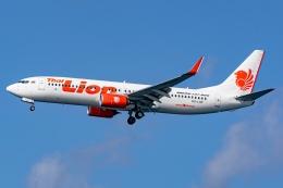 Ariesさんが、関西国際空港で撮影したタイ・ライオン・エア 737-8GPの航空フォト(飛行機 写真・画像)