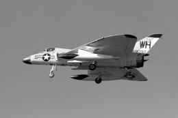 小金井原住民さんが、厚木飛行場で撮影したアメリカ海兵隊 F4D-1 Skyrayの航空フォト(飛行機 写真・画像)
