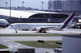 ITM58さんが、関西国際空港で撮影したロイヤル・ネパール航空 757-2F8Cの航空フォト(飛行機 写真・画像)
