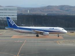 もんがーさんが、新千歳空港で撮影した全日空 A320-211の航空フォト(飛行機 写真・画像)
