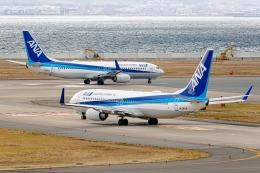 Ariesさんが、関西国際空港で撮影した全日空 737-881の航空フォト(飛行機 写真・画像)