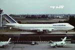 tassさんが、パリ オルリー空港で撮影したエールフランス航空 747-128の航空フォト(飛行機 写真・画像)