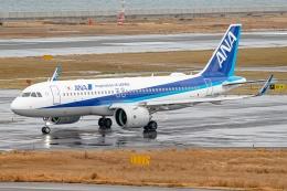 Ariesさんが、関西国際空港で撮影した全日空 A320-271Nの航空フォト(飛行機 写真・画像)