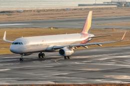 Ariesさんが、関西国際空港で撮影したアシアナ航空 A321-231の航空フォト(飛行機 写真・画像)