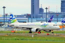 ちっとろむさんが、成田国際空港で撮影したスカイ・アンコール・エアラインズ A320-214の航空フォト(飛行機 写真・画像)