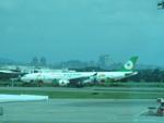 つくばーさんさんが、台湾桃園国際空港で撮影したエバー航空 A330-302Xの航空フォト(写真)