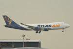 kuro2059さんが、香港国際空港で撮影したアトラス航空 747-47UF/SCDの航空フォト(飛行機 写真・画像)