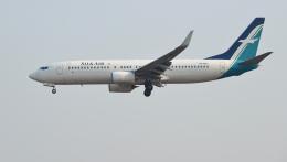 kenko.sさんが、シェムリアップ国際空港で撮影したシルクエア 737-8SAの航空フォト(飛行機 写真・画像)