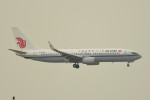 kuro2059さんが、香港国際空港で撮影した中国国際航空 737-89Lの航空フォト(飛行機 写真・画像)