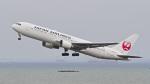 パンダさんが、羽田空港で撮影した日本航空 767-346の航空フォト(飛行機 写真・画像)