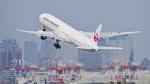 パンダさんが、羽田空港で撮影した日本航空 777-346の航空フォト(飛行機 写真・画像)
