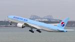 パンダさんが、羽田空港で撮影した大韓航空 777-2B5/ERの航空フォト(飛行機 写真・画像)