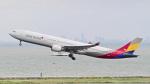 パンダさんが、羽田空港で撮影したアシアナ航空 A330-323Xの航空フォト(飛行機 写真・画像)
