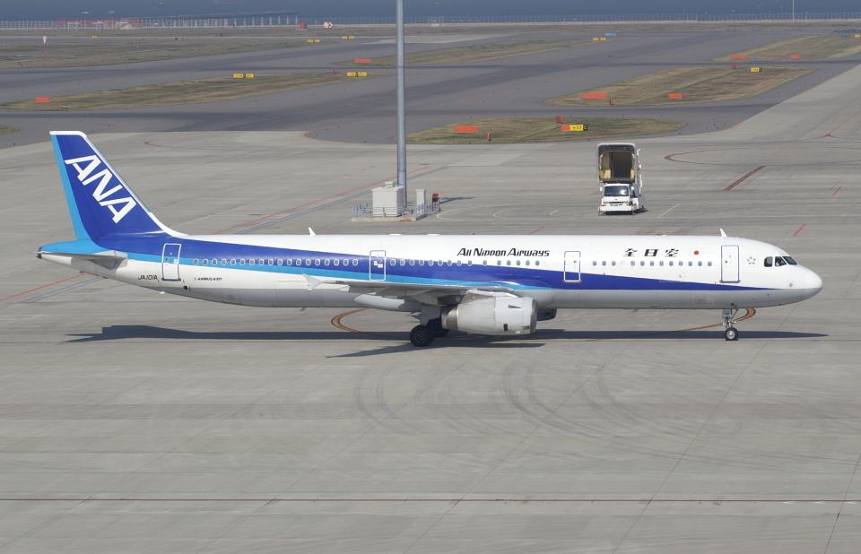 ☆ゆっきー☆さんの全日空 Airbus A321 (JA101A) 航空フォト