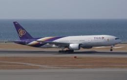 ☆ゆっきー☆さんが、中部国際空港で撮影したタイ国際航空 777-2D7の航空フォト(飛行機 写真・画像)