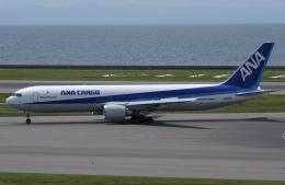☆ゆっきー☆さんが、中部国際空港で撮影した全日空 767-381F/ERの航空フォト(飛行機 写真・画像)
