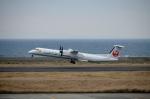 東亜国内航空さんが、奄美空港で撮影した琉球エアーコミューター DHC-8-402Q Dash 8 Combiの航空フォト(飛行機 写真・画像)