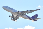 Cherry blossoms さんが、関西国際空港で撮影したタイ国際航空 747-4D7の航空フォト(飛行機 写真・画像)
