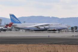 kumagorouさんが、仙台空港で撮影したアントノフ・エアラインズ An-124 Ruslanの航空フォト(飛行機 写真・画像)