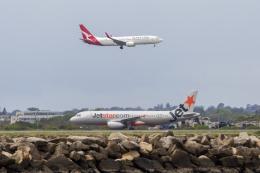 mameshibaさんが、シドニー国際空港で撮影したジェットスター A320-232の航空フォト(飛行機 写真・画像)
